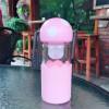 供应厂家直销新款热卖小小可爱蘑菇玻璃水杯