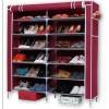 厂家直销庆诺牌双排7层鞋架 鞋柜 简易鞋架 大鞋柜 布鞋柜