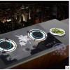 红外线高效节能燃气灶煤气灶嵌入式台式双灶液化天然气
