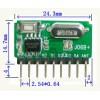 无线模块 接收模块 自带解码 超外差模块 J06B+