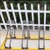 新恒安厂家直销自行车停车架碳素钢卡位式防盗停放架