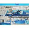 充气游泳池价格 儿童充气水上游乐园设备 支架游游泳池厂家