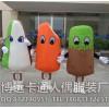 来图定制卡通人偶广告道具人穿公仔行走人偶雪糕冰淇淋