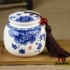 定做1斤2斤装膏方陶瓷罐价格,武汉定做瓷器膏方罐厂家