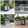 供应环卫垃圾桶街道不锈钢垃圾桶果皮分类垃圾箱定做
