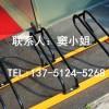 绿道通品牌的自行车停车架厂家直销碳素钢卡位式