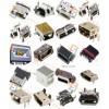 超薄迷你USB插座/小型镀金USB母座/沉板USB插孔