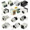 小型DC母座带防水/圆形金属DC插孔/超薄沉板DC插座
