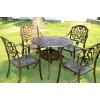 丰雨顺集安欧式铸铝铁艺桌户外家具 阳台庭院休闲桌椅定制