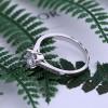 时尚简约环保铜电镀白金手饰戒指 润培饰品制造商供应 热卖