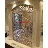 安徽宣城家装工装餐厅装饰中式土豪金钛金不锈钢屏风隔断加工