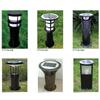 厂家直销防水圆管led太阳能草坪灯 公园草坪灯订做安装
