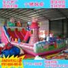 新款充气城堡儿童蹦蹦床户外充气滑梯小猪佩琪广场大型游乐园设备