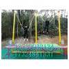 户外广场儿童钢架小蹦极跳床 公园电动飞天弹跳床游乐设备蹦蹦床