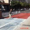 湖南张家界彩色路面施工喷涂新沥青路面
