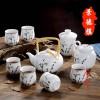 景德镇名瓷茶具厂 商务礼品定制陶瓷茶具