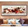 星级酒店大堂客房会议厅装饰壁画订制陶瓷工艺墙面背景画