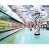 厂家直销不锈钢地铁墙面天花装饰彩色板 定制加工室内立柱装饰板