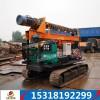 专业生产国家光伏工程专用履带式光伏电打桩机