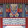 古建筑装饰彩绘漆 耐候保色外墙装饰水漆 寺庙长廊翻新漆