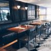 酒吧实木桌椅