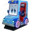 广东童茹中小型摇摆机 警车联盟 玻璃钢外型 投币式儿童摇摆机