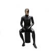 湖北迈亚厂家直销高档玻璃钢坐姿模特