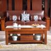 实木茶几沙发客厅家具组合胡桃木简约现代中式客厅全实木