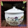 陶瓷加厚特色农家乐传统创意水缸福字缸米缸 陶瓷菜缸储物罐