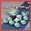 厂家直销玉瓷茶具套装 茶杯茶壶可定制商务礼品高档礼盒套装