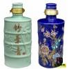 10斤装陶瓷酒瓶定做,5斤装粉彩陶瓷酒瓶批发