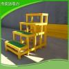双层玻璃钢绝缘凳JYD-G220KV高品质绝缘两步踏台高低凳