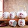 定制促销活动广告LOGO礼品茶具 陶瓷茶具印logo