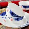 新年礼品陶瓷餐具批发 25头56头餐具定制批发