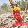 挖掘机粉碎钳液压夹 拆迁设备旋转钳