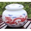 景德镇陶瓷茶叶罐订做商标logo