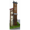 新款公交站台中国红党建牌精神堡垒村头党建牌厂家
