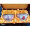 七十大寿回礼寿碗礼品定制 两碗两勺礼盒装