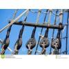 河北供应输送滑轮悬吊绳 优质涤纶输送绳 可调节输送绳