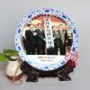 商务礼品纪念盘厂家 赠送客户礼品瓷盘