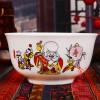 寿诞纪念礼品,陶瓷寿碗定做
