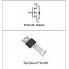 N沟道增强型MOSFET TDM3744