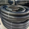 PE碳素管 单壁波纹碳素穿线管 200黑色地埋穿线管