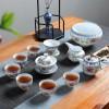 高档送礼陶瓷茶具 陶瓷整套功夫茶具套装家用 送领导送长辈