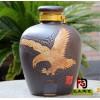 孝义雕刻陶瓷酒缸150斤批发 陶瓷酒坛厂家直销