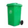 厂家直销小区环卫可移动带盖垃圾桶户外学校塑料垃圾桶加厚可定制