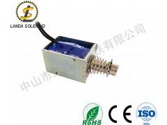推拉式直流24V电磁铁牵引式电磁铁厂家直销
