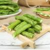 休闲食品  青刀豆脆  45g/罐  香脆可口