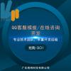胜网客服模板/在线咨询设计开发