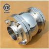 不锈钢三片式对焊止回阀 卫生级止回阀